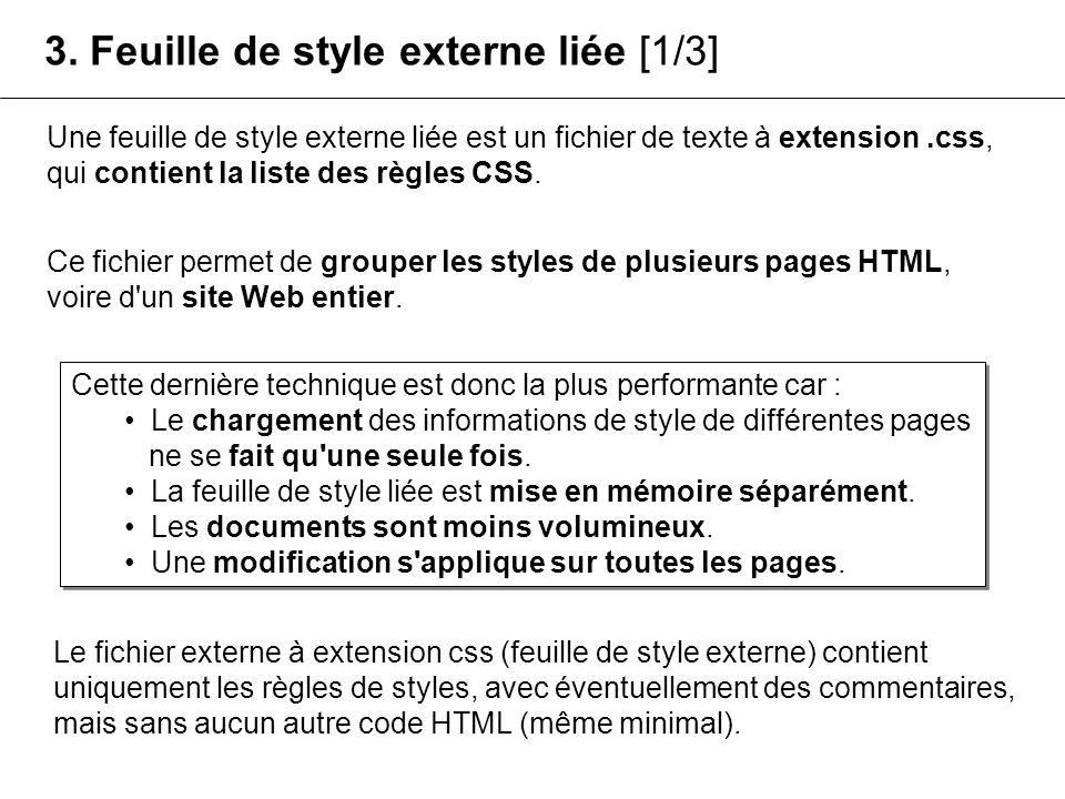 3. Feuille de style externe liée [1/3]
